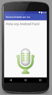 Como hacer una aplicacion reconocimiento de voz en android studio