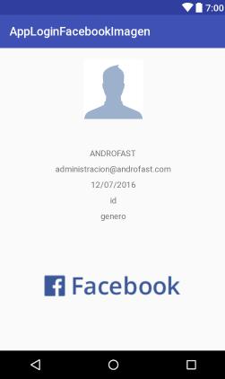 como hacer un login con la api de facebook mostrando nombre,imagen,genero