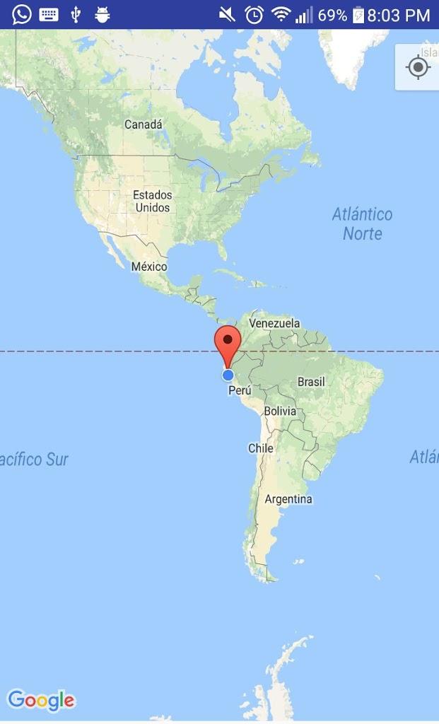 como obtener la nuestra posicion automatica en google map con android