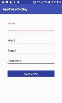 Volley: Registrar en mysql-curso parte 3