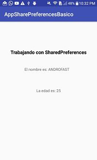 Shared Preferences: Preferencias en Android