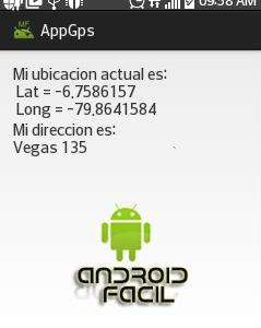 Ejemplo base obtener coordenadas y direccion en android studio